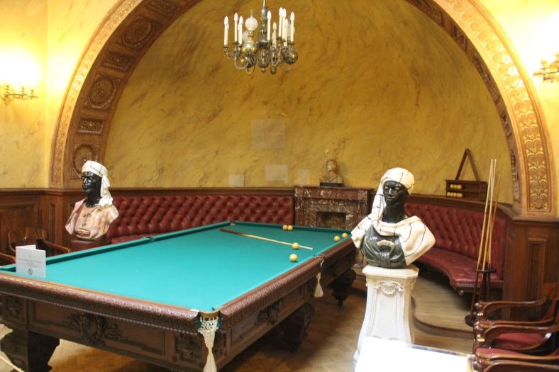 Yusipov Palace - Snooker Room