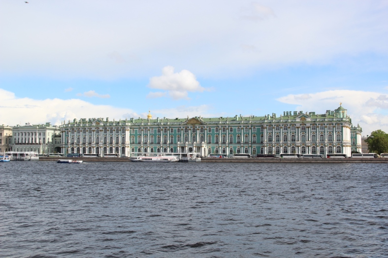 Strelka - View to Winter Palace