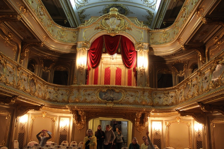 Yusipov Palace - Theatre - Royal Box