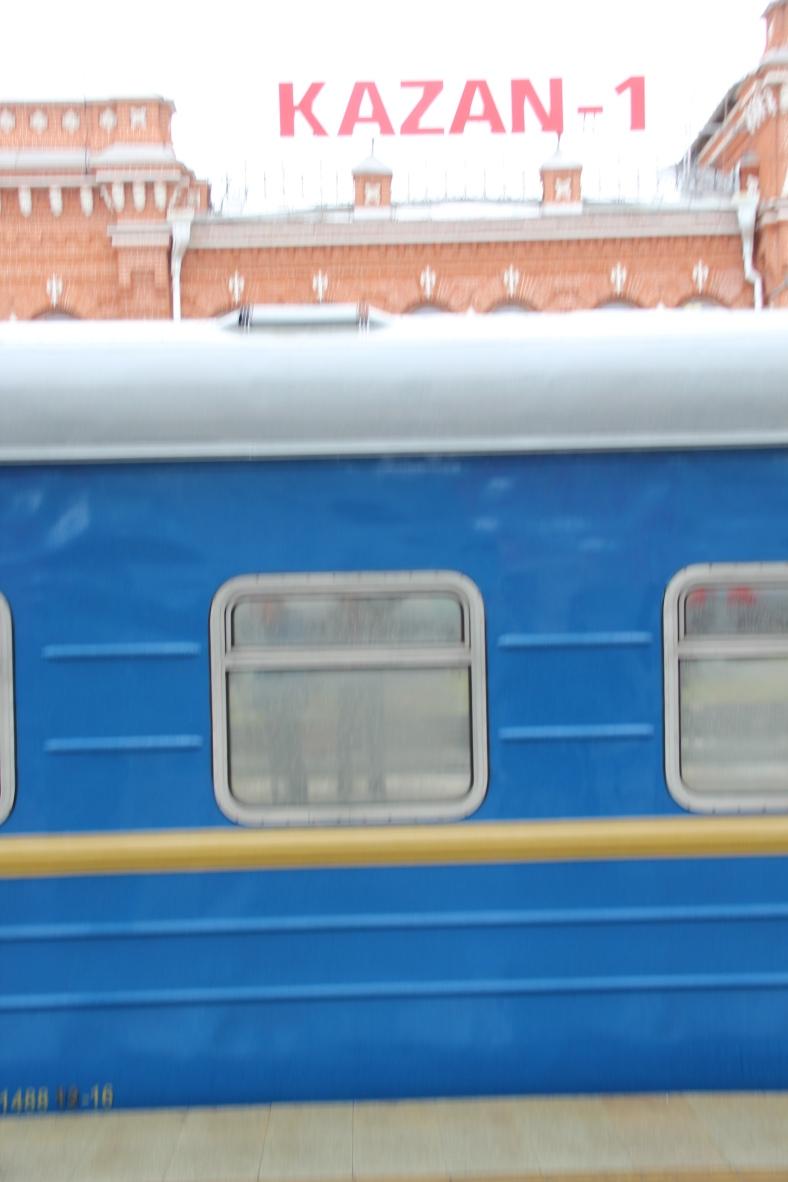 Train in Kazan Station