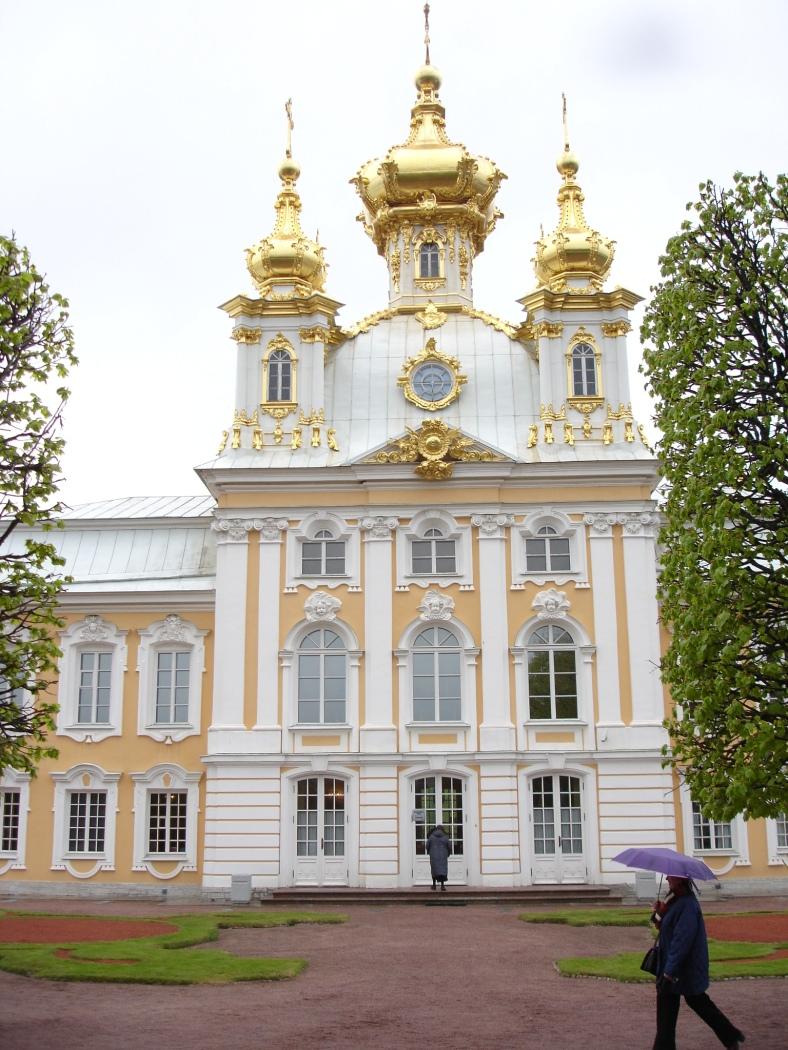 Tsarskoe Selo - Catherines Palace - Chapel