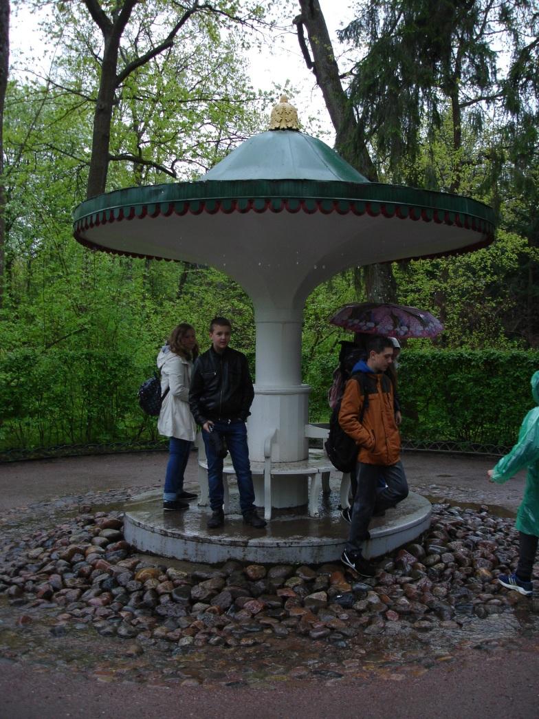 Peterhof - Trick Fountain 2