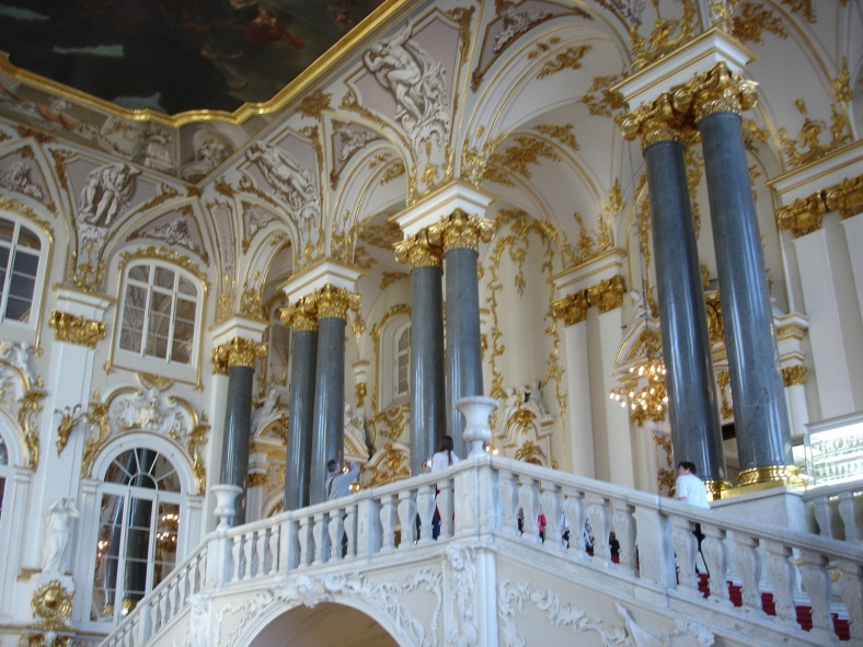Winter Palace - Rastrelli Staircase