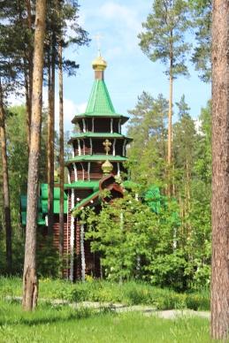 Chapels at Ganyna Yama
