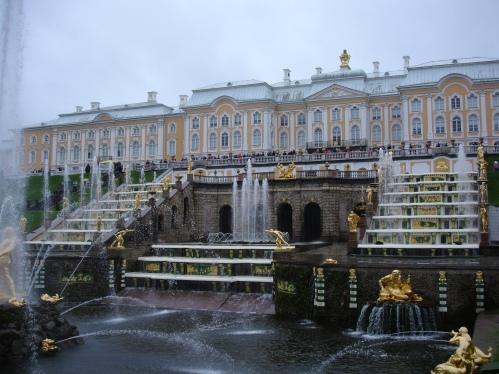 Peterhof - Main Cascade