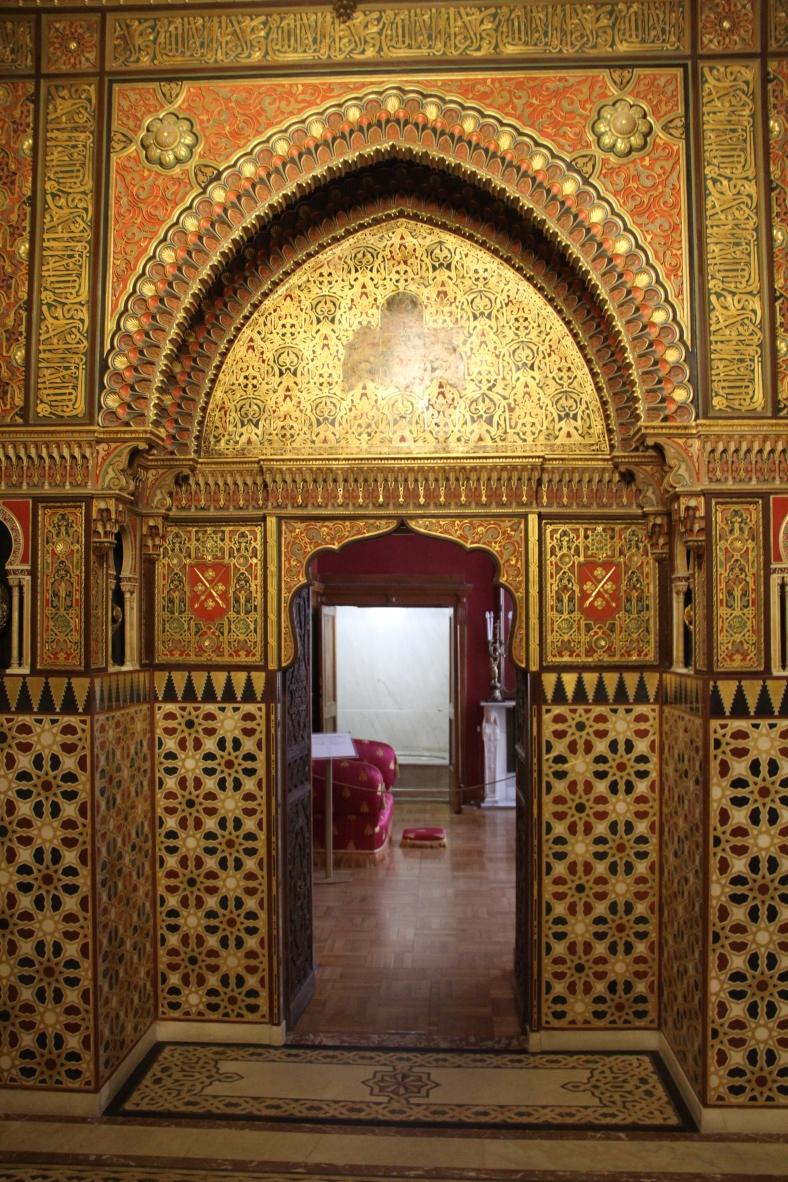 Yusipov Palace - Moorish Door