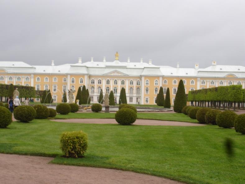 Tsarskoe Selo - Catherines Palace