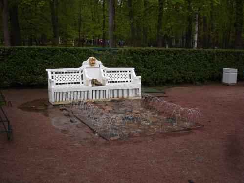 Peterhof - Trick Fountain