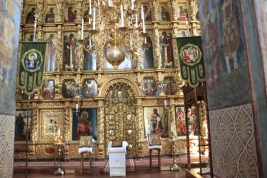 Suzdal - Cathedral of the Transfiguration - Iconostasis 2