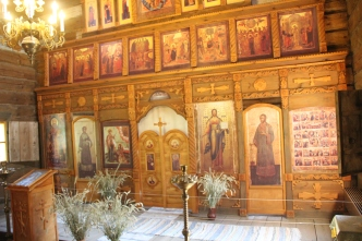Suzdal - Wooden Church Iconostasis