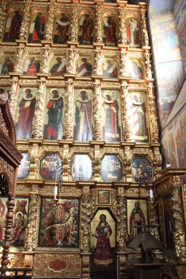 Suzdal - Cathedral of the Transfiguration - Iconostasis
