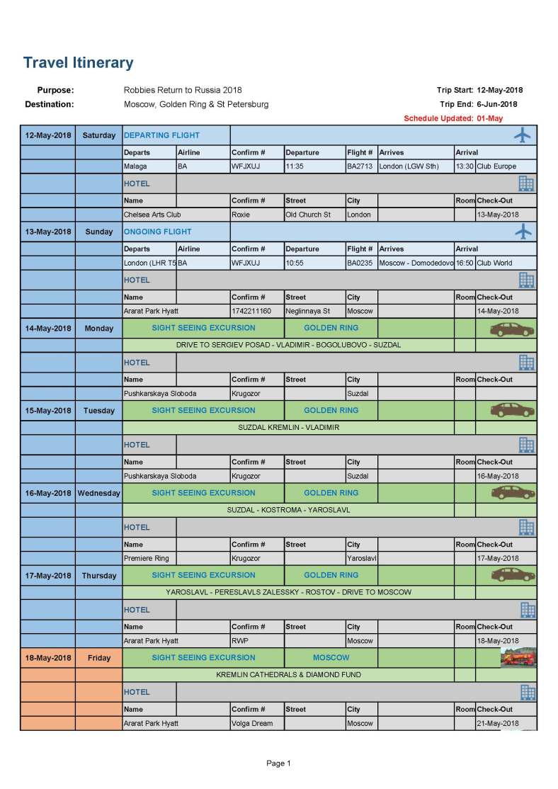 2018 Russian Trip - Itinerary_Page_1