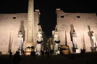 Luxor Temple at night (2)